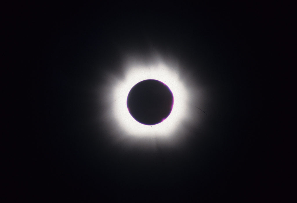 1999 Total Eclipse of the Sun, by Rowan McLaughlin