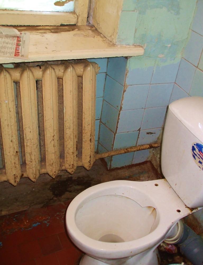 Siberian Hospital Toilet