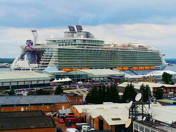 Harmony of the Seas , City Terminal, Southampton