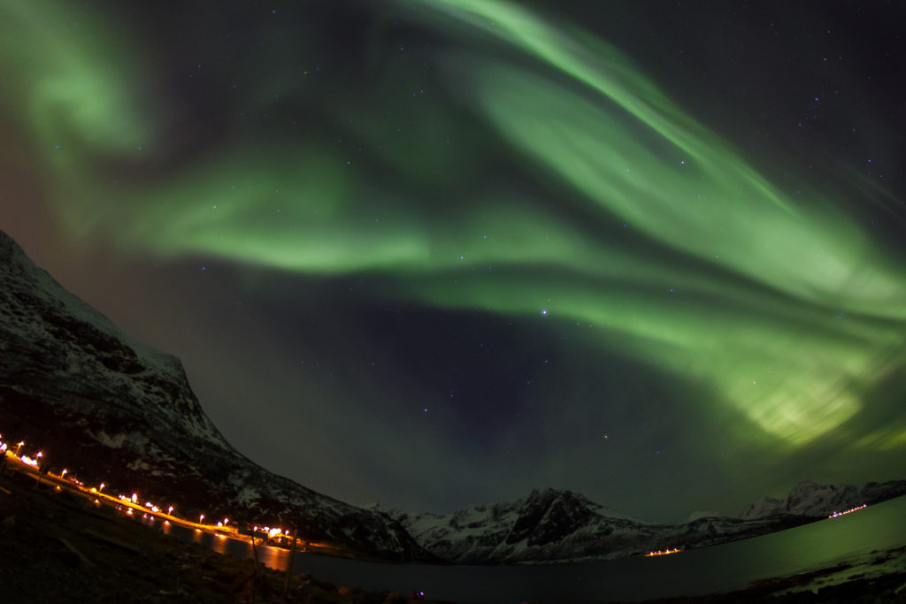 The Northern Lights (Aurora Borealis) from Norway