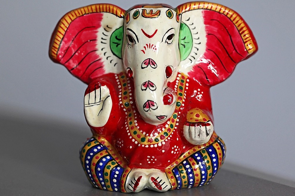 Hindu Shri Ganesha Ganupti Elephant Head God