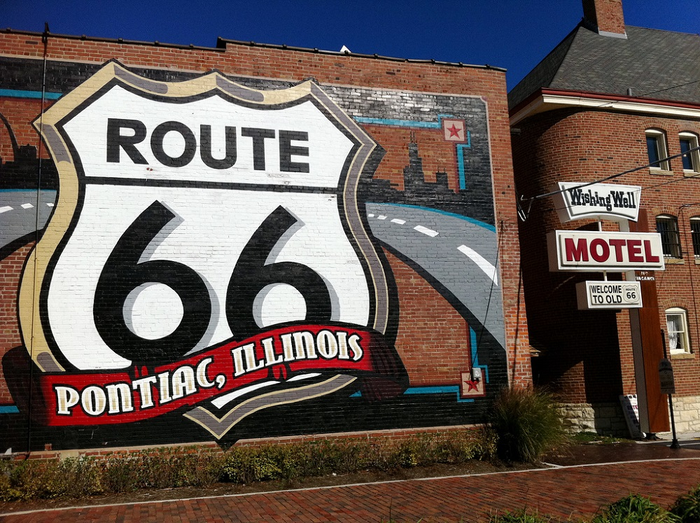 Route 66 aka the Mother Road, USA