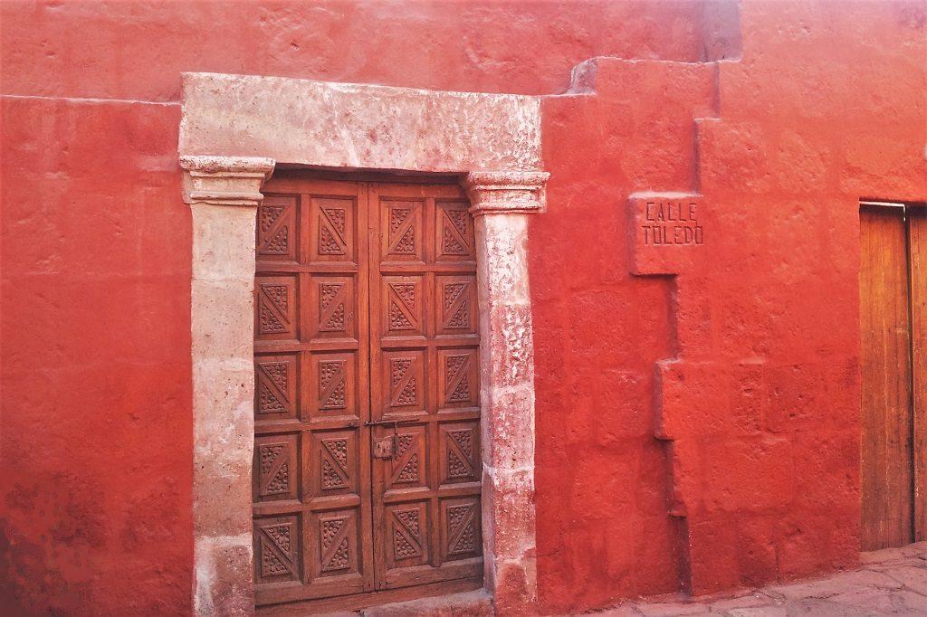 Calle Toledo, Santa Catalina Monastery, Arequipa, Peru