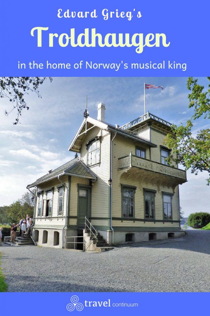 Pin image for Edvard Grieg's Troldhaugen