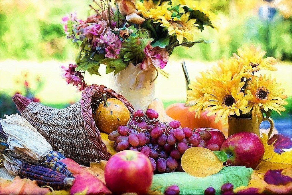 Harvest Festival Cornucopia