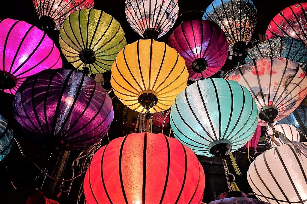 Lanterns at Mid-Autumn Festival