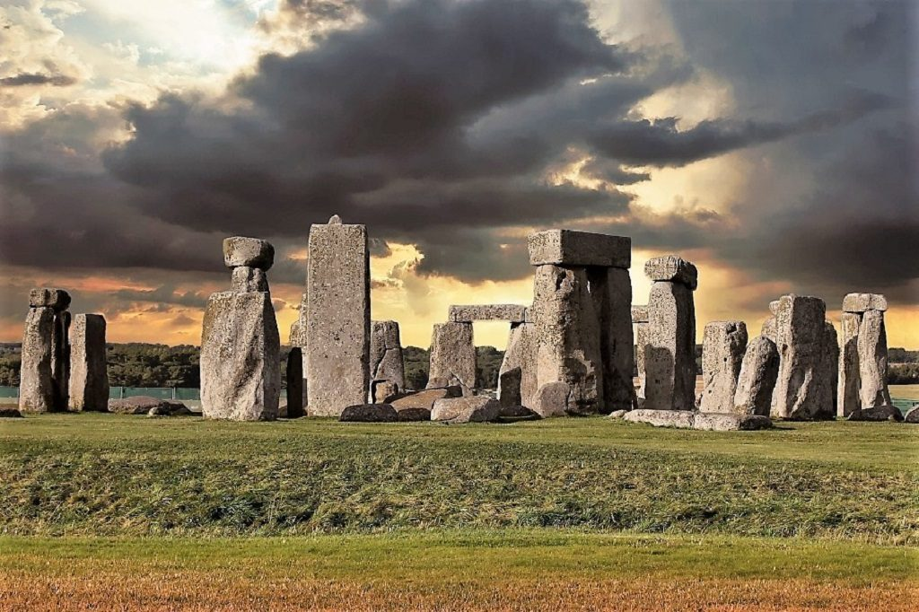 Stonehenge,, a site for pagan rituals