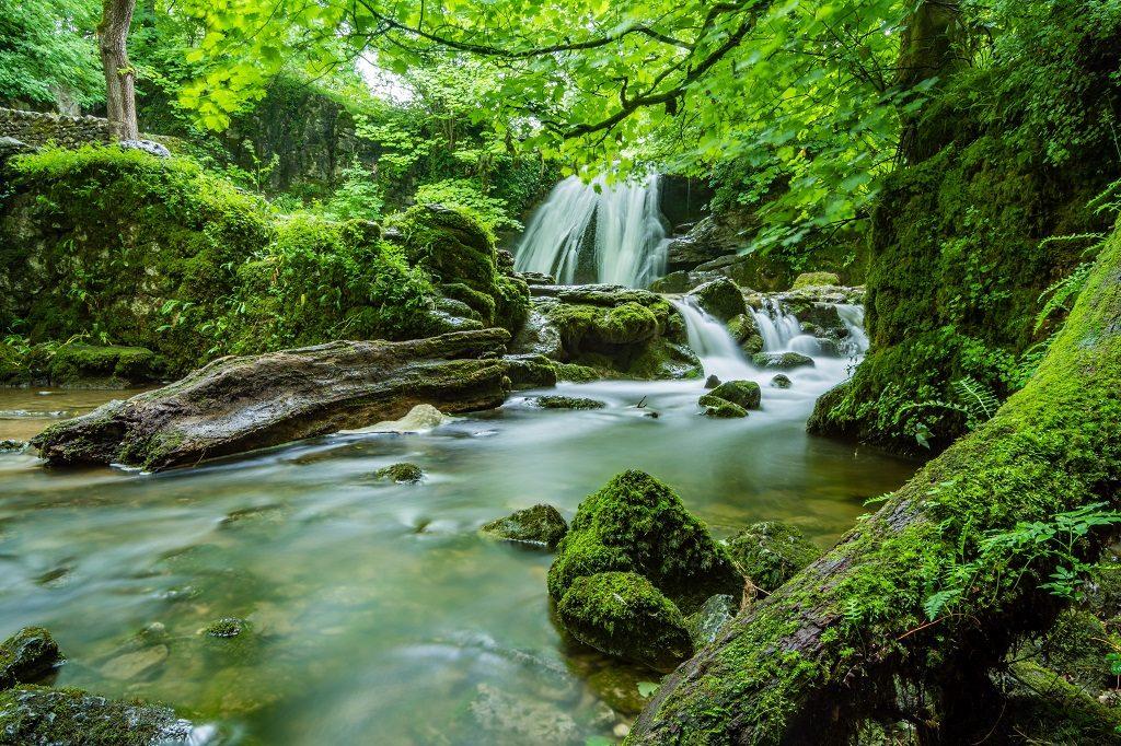 Waterfall at Krka National Park in Croatia