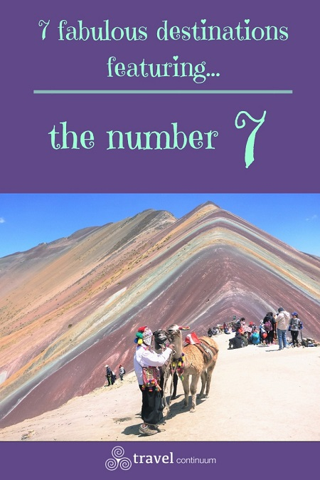 7 fabulous destinations featuring the number 7 - pin